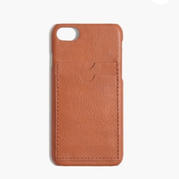 check out 114c1 904bb Madewell Leather Carryall Case for iPhone® 7+